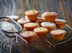 Muffins med kransekage
