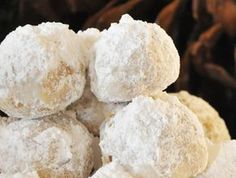 melt in your mouth snow ball cookies