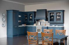 Каталог кухонь | BRISTOL BLUE | Кухни VIRS Lockers, Locker Storage, Cabinet, Bristol, Kitchen, Table, Furniture, Home Decor, Footlocker