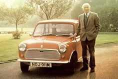 Sir Alec Issigonis, inventor of the Mini
