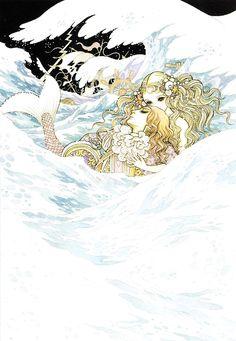 人魚姫 1979:高橋真琴  The Little Mermaid:macoto takahashi