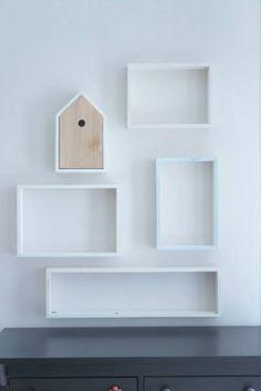 Półka Budka dla ptaków // Ossendowski Design