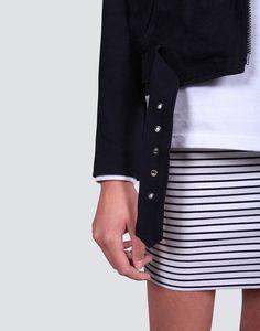 Berlin Suede Jacket | theonlinestore Suede Jacket, Berlin, Sweaters, Jackets, Collection, Fashion, Suede Moto Jacket, Down Jackets, Moda