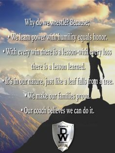 Why do we wrestle? Wrestling Quotes, Wrestling Mom, Golf Quotes, Love My Boys, Travel Humor, Golf Humor, We Can Do It, European Football, Golf Fashion