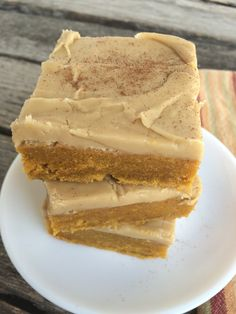 Pumpkin Blondies wit