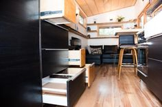 IKEA Cabinets - North Sister by Wood Iron Tiny Homes