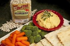 Cannellini Bean Spread with Rosemary @bobsredmill