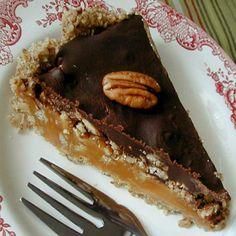 Chocolate Pecan Caramel Pie