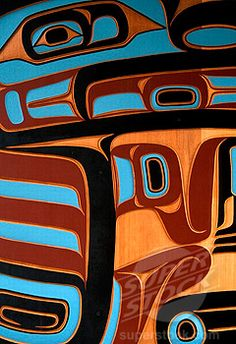 art, culture, Indian, Native American Art, Pacific Northwest, painting ...