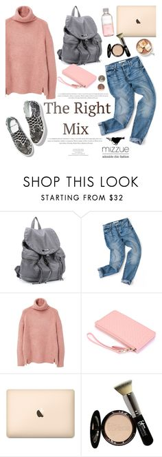 """The right mix/Mizzue Accessories"" by helenevlacho ❤ liked on Polyvore featuring MANGO, It Cosmetics, Lord & Berry and mizzue"