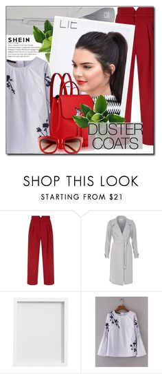 """""""shein"""" by konstadinagee ❤ liked on Polyvore featuring RED Valentino, River Island and Pottery Barn"""