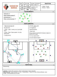 Enttos c. Murcia, Barcelona Training, Football Training Drills, Coaching, Soccer, Sayings, Sports, Soccer Practice, Training