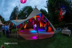 Our client's garden proved a perfect setting for their festival-themed birthday party. A large tipi tent created a Festival Garden Party, Festival Themed Party, Festival Wedding, Festival Style, Food Festival, Festival Fashion, Dance Party Birthday, 40th Birthday Parties, 50th Birthday Party