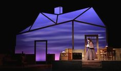 A great set in Little Women the Musical presented by Northern Kentucky University