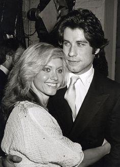 """Olivia Newton John and John Travolta.             She's so pretty, """"I will always love her"""""""