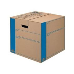 Bankers Box SmoothMove Moving and Storage Boxes, Medium, 8 Pack (0062801), (moving boxes, cardboard boxes, office storage, home storage, moving box, storage, moving, fellowes, bankers box, boxes)