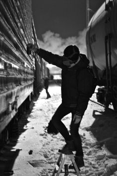 Nightbombin' in the Trainyard