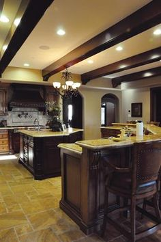 Don't remodel your home without giving some attention to the #ceiling. Here are some creative designs that add an architectural element overhead. www.remodeling.hw.net
