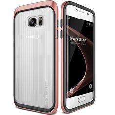 Amazon.com: Galaxy S7 Edge Case, VRS Design [Triple Mixx][Rose Gold] - [Clear Cover][Drop Protection][Slim Fit] For Samsung S7 Edge: Cell Phones & Accessories