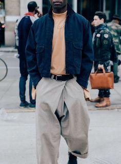 jacket + big pants