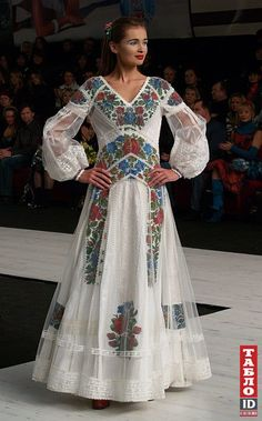 Wedding Dress Roksolana Bohutska....I'ld wear this just because I can, never mind a Wedding dress!