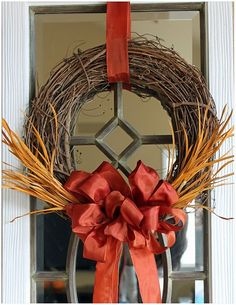 Pretty fall wreaths