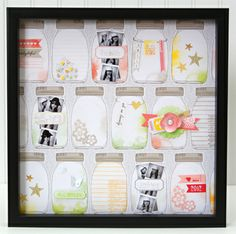cricut doodlecharms has a canning jar pattern.  love this page/project