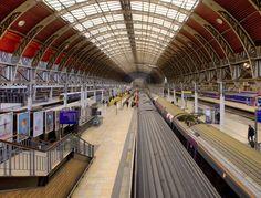 Paddington Station - architects impression