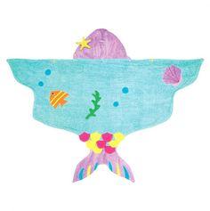 Mermaid Towel - Kidorable Hooded Towels - Events  ...for my little mermaid