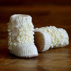 The Furrylicious Baby Boot Booties Pattern