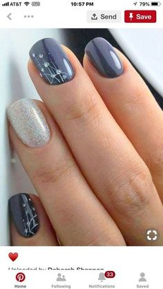 Nail art is a very popular trend these days and every woman you meet seems to have beautiful nails. It used to be that women would just go get a manicure or pedicure to get their nails trimmed and shaped with just a few coats of plain nail polish. Bridal Nail Art, Wedding Nails Art, Winter Wedding Nails, Spring Wedding, Bridal Shower Nails, Wedding Nails Design, Bridal Makeup, Wedding Makeup, Wedding Designs