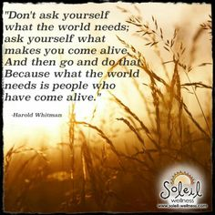 #quote Soleil Wellness