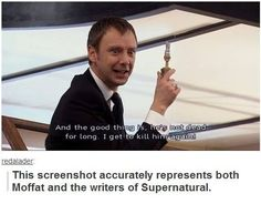 Moffat, Mark, supernatural writers, Walking Dead writers, etc.