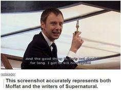 Moffat, Mark, supernatural writers, Walking Dead writers, etc.