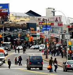 Fordham road. From Little Italy to Devoe Park.
