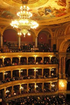 The Hungarian State Opera House in Budapest - Hungary