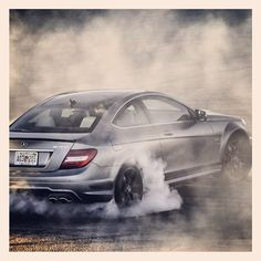 Time to make the donuts. #C63 #AMG #mercedes #benz #instacar