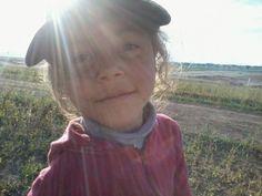 Un sol vestido de niña...Que paseos más maravillosos con Elsita