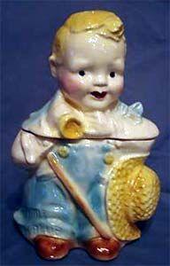 Brush Little Boy Blue cookie jar
