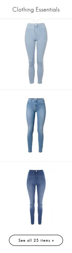 """""""Clothing Essentials"""" by fangsandfashion ❤ liked on Polyvore featuring casual, inspiration, vampirediaries, TheOriginals, jeans, pants, blue jeans, acid wash jeans, skinny fit jeans and high rise jeans"""