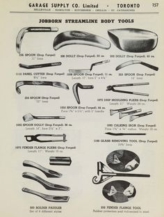 """Progress is fine, but it's gone on for too long.: Vanished tool makers: Jobborn Manufacturing Company, """"Stream Line Tools. Antique Tools, Old Tools, Vintage Tools, Sheet Metal Tools, Sheet Metal Work, Custom Metal Fabrication, Fabrication Tools, Auto Body Work, Forging Tools"""