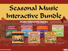 This growing bundle (updated December 2018 ) Now save a massive versus buying these resources separately. This bundle includes interactive resources su. Christmas Music Quiz, Game Codes, Music Games, Teaching Resources, Coding, Seasons, Four Seasons, Musik