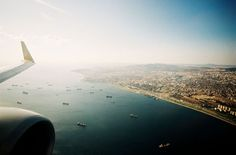 On approach into Istanbul