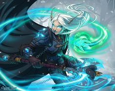 Let's share our favorite Warcraft fan-art! - Page 118 - Scrolls of Lore Forums <<< beautiful art Fantasy Character Design, Character Design Inspiration, Character Concept, Character Art, World Of Warcraft 3, Warcraft Art, Warcraft Legion, Fantasy Rpg, Fantasy Artwork