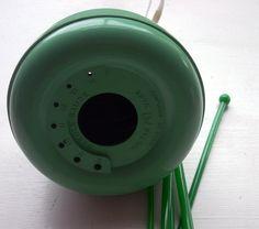 Green beehive by Raggedroses, via Flickr