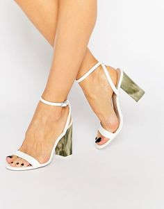 Image 1 of ASOS HUE Heeled Sandals