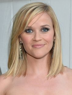 medium length hairstyles 2014 | Reese Witherspoon Medium Length Hairstyles: 2014 Straight Bob - Pretty ...