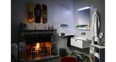 Mobile da bagno con lavabo Incastrà. LineaBeta.
