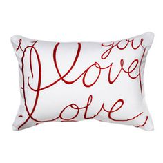 Use a Sharpie to make Valentine pillows that still look great through the year!