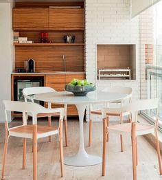 Ideias para uma varanda gourmet pequena - Mão na Casa